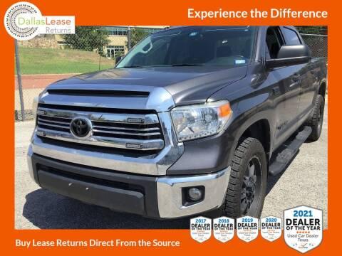 2016 Toyota Tundra for sale at Dallas Auto Finance in Dallas TX