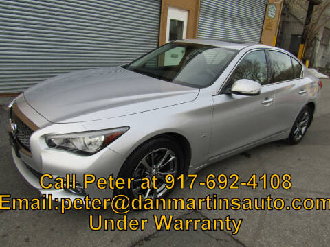 2017 Infiniti Q50 for sale at Dan Martin's Auto Depot LTD in Yonkers NY