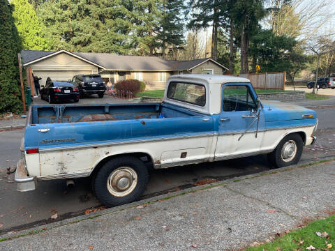 1971 Ford F-250 for sale at Wild About Cars Garage in Kirkland WA