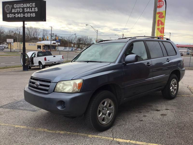 2007 Toyota Highlander for sale at Guidance Auto Sales LLC in Columbia TN