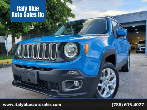 2015 Jeep Renegade for sale at Italy Blue Auto Sales llc in Miami FL