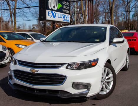 2017 Chevrolet Malibu for sale at EXCLUSIVE MOTORS in Virginia Beach VA