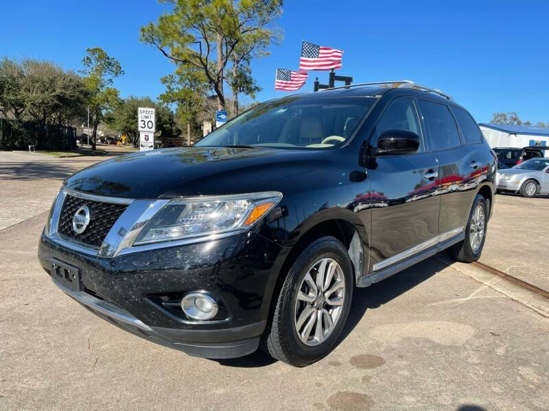 2013 Nissan Pathfinder for sale at Newsed Auto in Houston TX