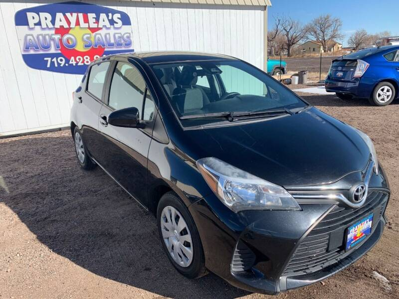 2017 Toyota Yaris for sale at Praylea's Auto Sales in Peyton CO