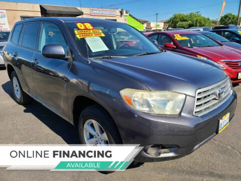 2008 Toyota Highlander for sale at Super Cars Sales Inc #1 in Oakdale CA