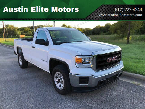 2014 GMC Sierra 1500 for sale at Austin Elite Motors in Austin TX