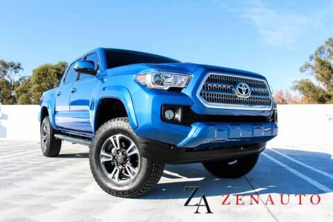 2017 Toyota Tacoma for sale at Zen Auto Sales in Sacramento CA