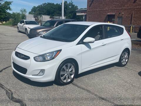 2013 Hyundai Accent for sale at Ludlow Auto Sales in Ludlow MA