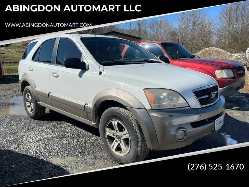 2004 Kia Sorento for sale at ABINGDON AUTOMART LLC in Abingdon VA