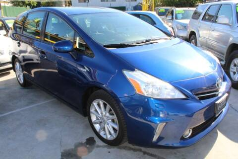 2014 Toyota Prius v for sale at Good Vibes Auto Sales in North Hollywood CA