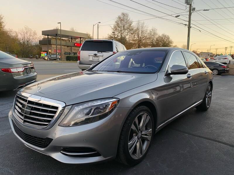2014 Mercedes-Benz S-Class for sale at Viewmont Auto Sales in Hickory NC