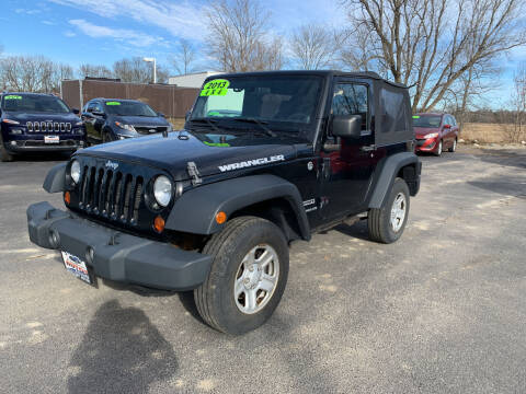 2013 Jeep Wrangler for sale at Excellent Autos in Amsterdam NY