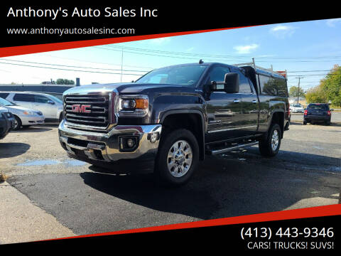 2015 GMC Sierra 2500HD for sale at Anthony's Auto Sales Inc in Pittsfield MA