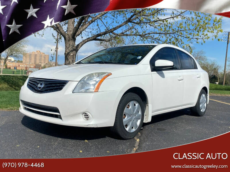 2010 Nissan Sentra for sale at Classic Auto in Greeley CO