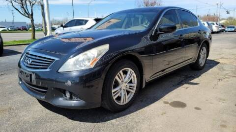 2012 Infiniti G25 Sedan for sale at Tri City Auto Mart in Lexington KY