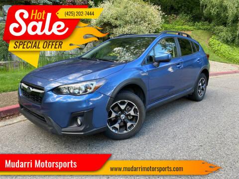 2018 Subaru Crosstrek for sale at Mudarri Motorsports in Kirkland WA
