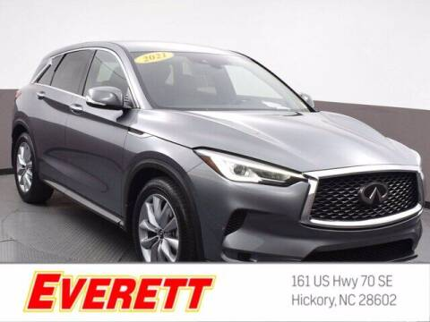 2021 Infiniti QX50 for sale at Everett Chevrolet Buick GMC in Hickory NC