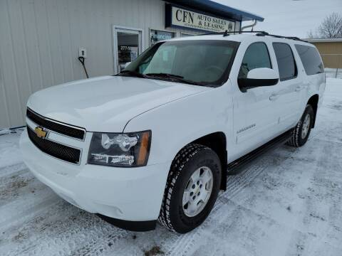 2013 Chevrolet Suburban for sale at CFN Auto Sales in West Fargo ND
