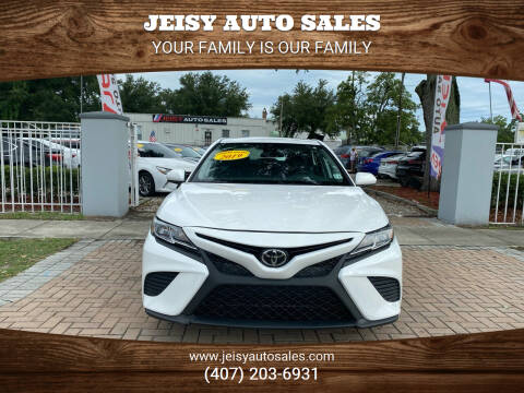 2019 Toyota Camry for sale at JEISY AUTO SALES in Orlando FL