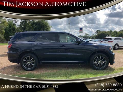 2018 Dodge Durango for sale at Tim Jackson Automotive in Jonesville LA