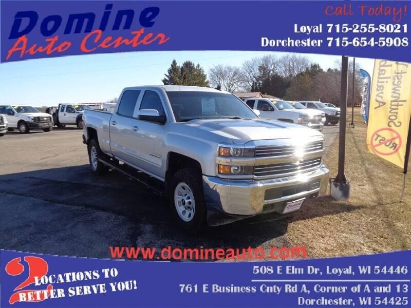 2017 Chevrolet Silverado 2500HD for sale at Domine Auto Center in Loyal WI