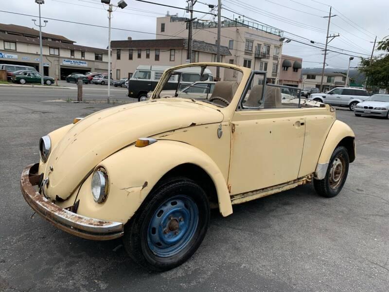 1969 Volkswagen Beetle Convertible for sale at Dodi Auto Sales in Monterey CA