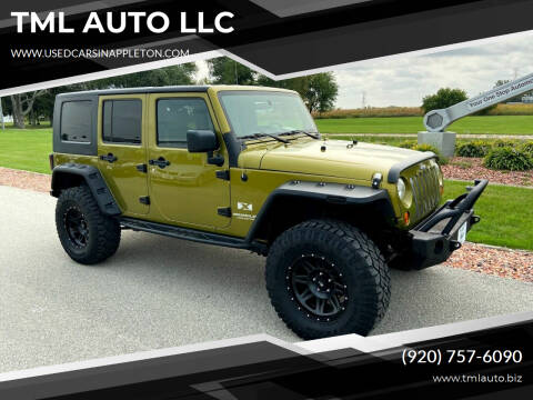 2007 Jeep Wrangler Unlimited for sale at TML AUTO LLC in Appleton WI
