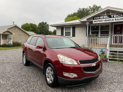 2011 Chevrolet Traverse for sale at Wheel Tech Motor Vehicle Sales in Maylene AL