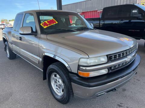 1999 Chevrolet Silverado 1500 for sale at Top Line Auto Sales in Idaho Falls ID