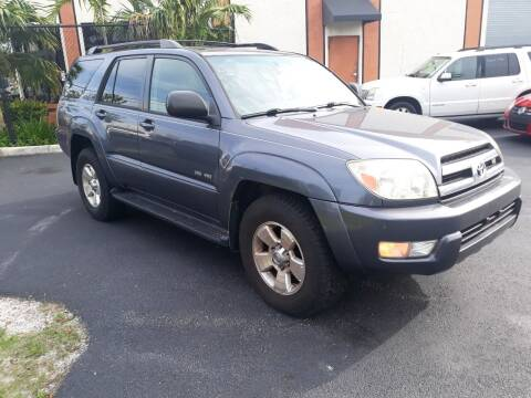 2005 Toyota 4Runner for sale at LAND & SEA BROKERS INC in Deerfield FL