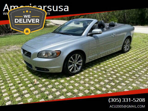 2010 Volvo C70 for sale at Americarsusa in Hollywood FL