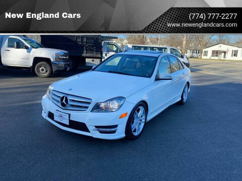 2013 Mercedes-Benz C-Class for sale at New England Cars in Attleboro MA