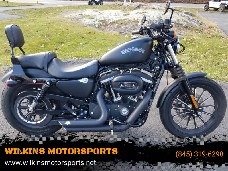 2015 Harley-Davidson Sportster Iron 883 for sale at WILKINS MOTORSPORTS in Brewster NY