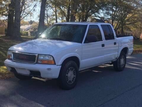 2002 GMC Sonoma for sale at Two Brothers Auto Sales in Loganville GA