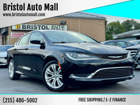 2015 Chrysler 200 for sale at Bristol Auto Mall in Levittown PA