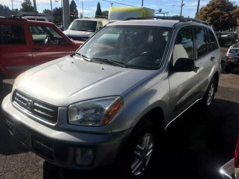 2002 Toyota RAV4 for sale at Chuck Wise Motors in Portland OR