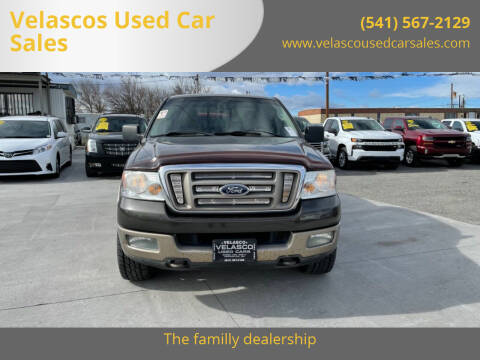 2005 Ford F-150 for sale at Velascos Used Car Sales in Hermiston OR