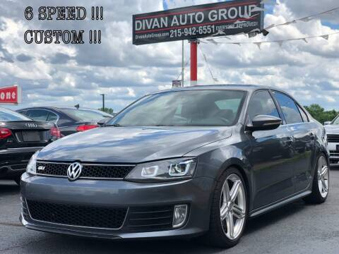 2012 Volkswagen Jetta for sale at Divan Auto Group in Feasterville PA