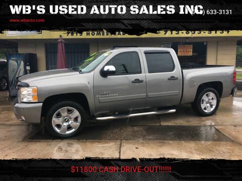 2008 Chevrolet Silverado 1500 for sale at WB'S USED AUTO SALES INC in Houston TX
