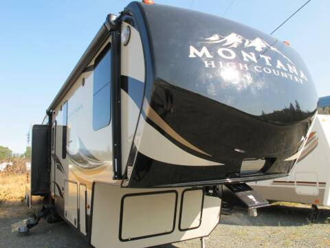 2018 MONTANA HIGH COUNTRY 34 BH for sale at Oregon RV Outlet LLC - 5th Wheels in Grants Pass OR
