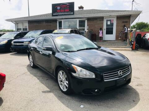 2010 Nissan Maxima for sale at I57 Group Auto Sales in Country Club Hills IL