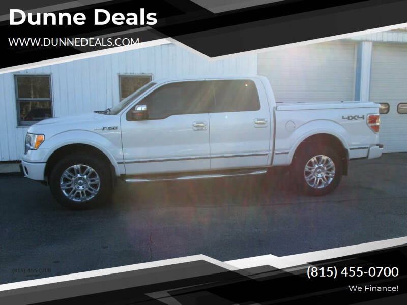 2010 Ford F-150 for sale at Dunne Deals in Crystal Lake IL
