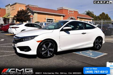 2016 Honda Civic for sale at Cali Motor Group in Gilroy CA