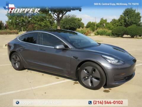 2019 Tesla Model 3 for sale at HOPPER MOTORPLEX in Mckinney TX