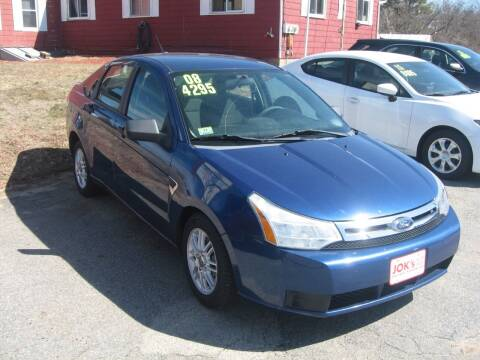 2008 Ford Focus for sale at Joks Auto Sales & SVC INC in Hudson NH
