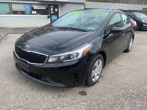 2017 Kia Forte for sale at B & P Motors LTD in Glenshaw PA