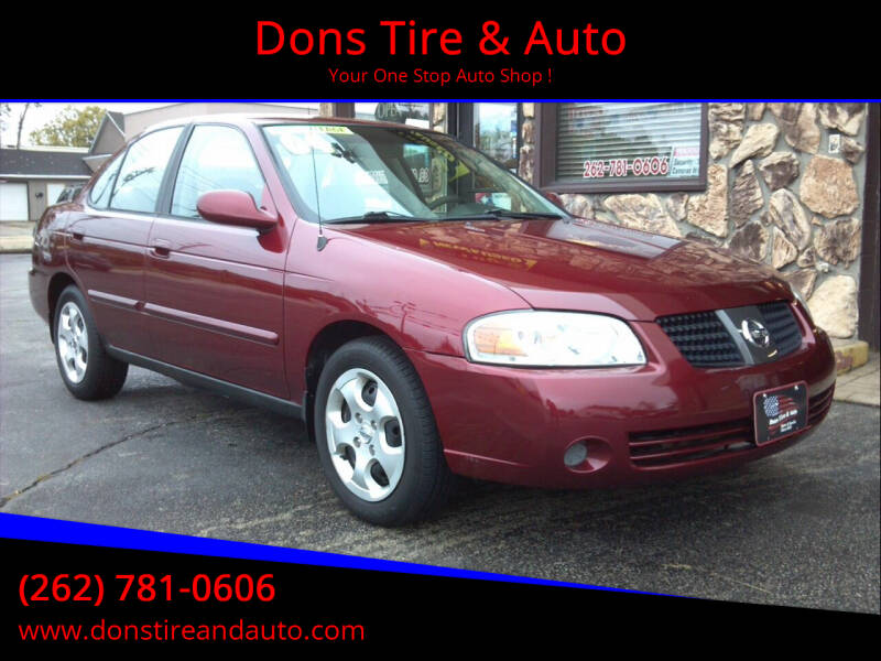 2004 Nissan Sentra for sale at Dons Tire & Auto in Butler WI