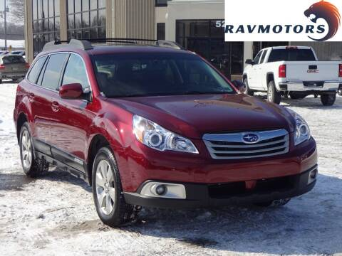 2012 Subaru Outback for sale at RAVMOTORS 2 in Crystal MN