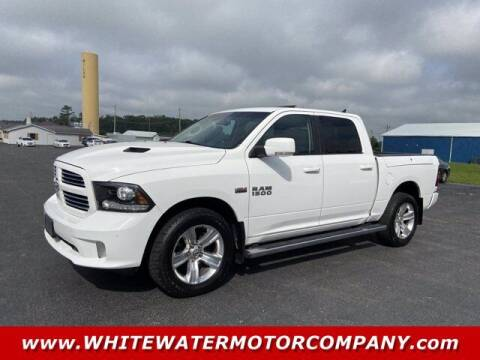 2017 RAM Ram Pickup 1500 for sale at WHITEWATER MOTOR CO in Milan IN