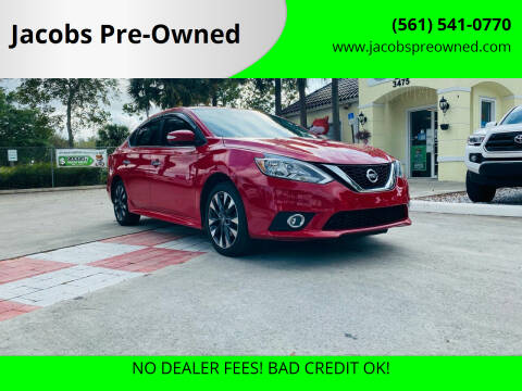 2017 Nissan Sentra for sale at Jacobs Pre-Owned in Lake Worth FL